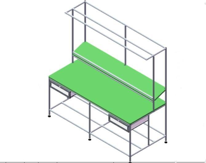 铝合金线棒工作台