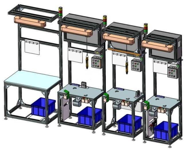 铝型材多功能工作台