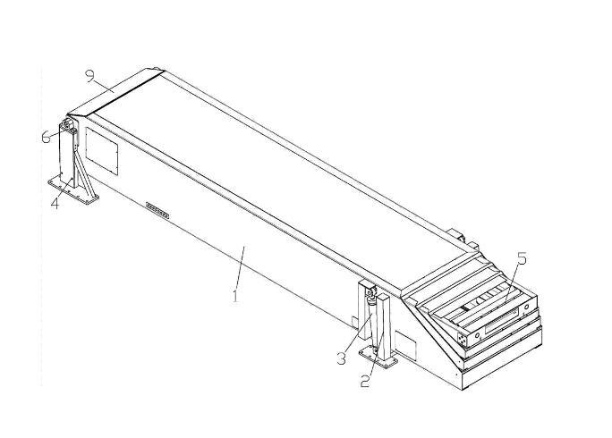 铝型材伸缩皮带输送机