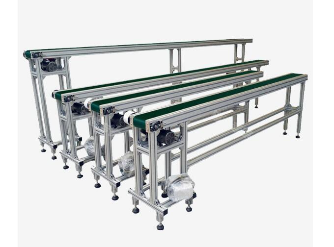 工业铝型材如何制作小型皮带输送线