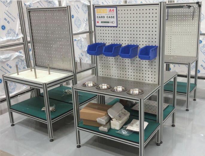 铝型材背板工作台