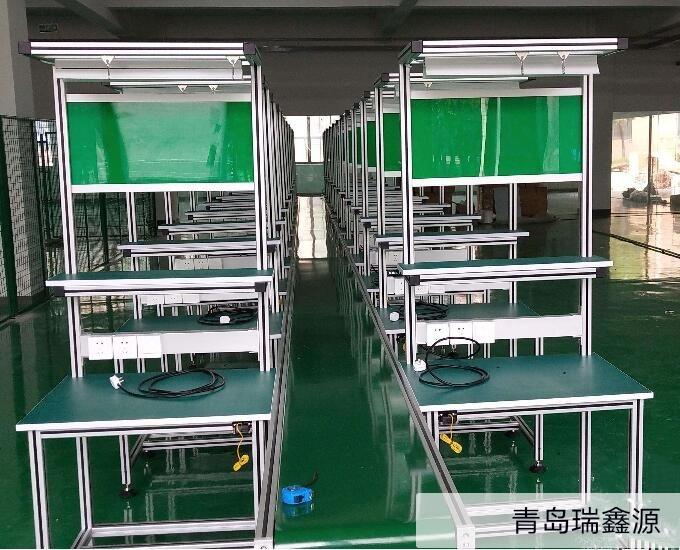 铝型材流水线工作台